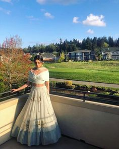 New Outfits In Yummy Colors & Fun Silhouettes For Your BFF's Wedding! neue Outfits in lecker Indian Gowns Dresses, Indian Fashion Dresses, Indian Designer Outfits, Pakistani Dresses, Indian Wedding Outfits, Indian Outfits, Wedding Dresses, Indian Weddings, Prom Dresses