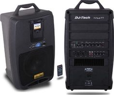 Dj Tech Ivisatt Djtech 80w Abs Port. Pa Sys Ipod Usb 5ch by DJ Tech. $172.00. * plug and play pa system for ipod/usb mass storage device* 80 watts all-in-one pa solution* ipod docking recharging during playing* anti theft protection for ipod* remote control for ipod* mp3 player built-in / usb input ( up to 8 go pen drive )* 6 channel mixer ez to use* 3 microphone input with individual volume* tone and echo control for the microphone* talkover for line/ipod/mp3 play...