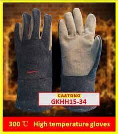 300 degrees heat-resistant gloves CASTONG Oven glove Two fingers High temperature gloves Coach Purses Outlet, Heat Resistant Gloves, Safety Gloves, Workplace Safety, Cheap Coach, Oven Glove, Brand Store, Fingers