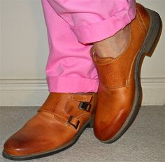 Joe Fresh chinos, Steve Madden double-monks…