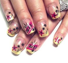 224 Best New Years Nails Images On Pinterest Christmas Nails
