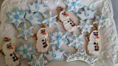 Disney Frozen Inspired Cookies