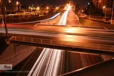 Avenue. - Pinned by Mak Khalaf Abstract abstractarchitecturecolorlightlong exposure by DanielEduardo