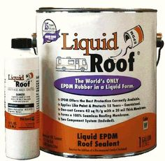 Liquid Roof® a liquid EPDM coatings, manufactured by Pro Guard Coatings. Made for RV roofs.  Distributed  by MLC. CALL TOLL FREE: 1-800-864-5066    #LiquidRoof, #RVrepair #rv_repair