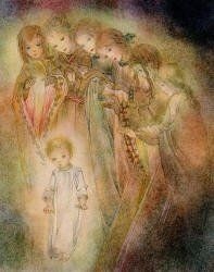 'Der Engel' ('The Angels') by Sulamith Wulfing