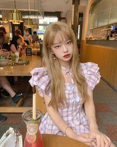 Cute Kawaii Girl, Cute Girl Face, Cute Korean Girl, Asian Girl, Korean Hair Color, Cute Photography, Uzzlang Girl, Pretty Asian, Girl Crushes