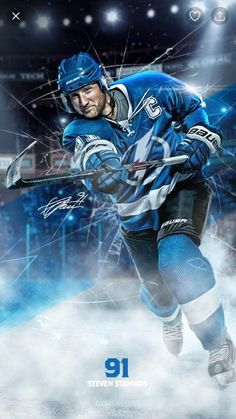 Wallpapers by Stephanie Llanes-Sanders. Go Bolts ⚡ Sports Action Photography, Steven Stamkos, Bay Sports, Super Rugby, Nhl Players, Tampa Bay Lightning, Sports Graphics, Hockey Games, Team Photos
