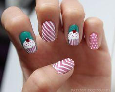 213: tutorial - cupcake nails