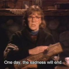 if the log lady says it...