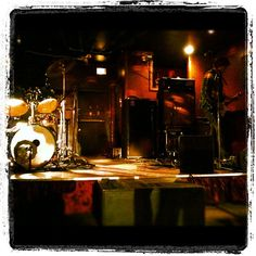 Stage setup @ Liar's Club for a scene in Rot