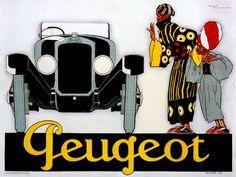 * Peugeot affiche 1925 René Vincent (1879-1936)