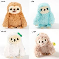 The Littlest Gift Boutique sloth plush