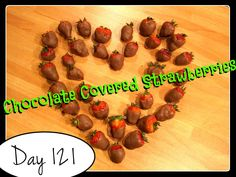 Chocolate Covered Strawberries Recipe [DAY 121] ★ watch the video: https://www.youtube.com/watch?v=aVzayTwCsg0&list=PLGRnDhMJALhGSPvJl_zKgtNg2YZPaYf1S&index=1 ★  I'm trying A NEW RECIPE OF Laura in the Kitchen EVERY DAY and sharing its conversion into the metric system, come and join me on my yummy challenge! :)