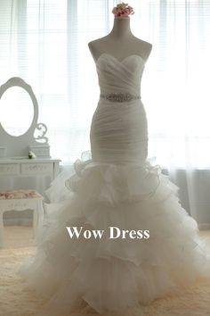 Hey, I found this really awesome Etsy listing at https://www.etsy.com/listing/181427518/white-wedding-dress-mermaid-wedding
