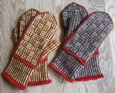 Fletvanter Knitted Mittens Pattern, Crochet Mittens, Fingerless Mittens, Knitted Gloves, Knit Crochet, Knitting Charts, Knitting Socks, Hand Knitting, Wrist Warmers