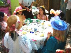 Tea Party Inspiration - Tea Party Birthday Ideas at http://www.birthdayinabox.com/party-ideas/guides.asp?bgs=111