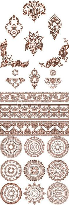 Henna tattoo pattern for mandala tattoos, batik tattoos pattern, ornamental tattoos pattern The post Henna Tattoo – ancient art for temporary skin ornamentation with plant color – Archzinenet appeared first on Garden ideas - Tattoos And Body Art Henna Tattoo Designs, Diy Tattoo, Mehndi Designs, Tattoo Bird, Tattoo Ideas, Henna Designs Drawing, Tattoo Swallow, Tattoo Eagle, Tattoo Guys
