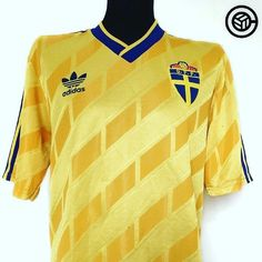 1990 Sweden shirt (L) @cultfootball Link in bio (search: Sweden)