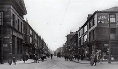 Pictures of Bolton town centre from around 1880 to the present day. Present Day, Then And Now, Small Towns, Old Town, Newport, North West, 19th Century, Street View, England
