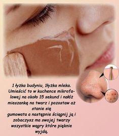 Maseczka na wągry Beauty Hacks For Teens, Beauty Ideas, Diy Beauty, Beauty Regime, Lots Of Makeup, Puffy Eyes, How To Apply Makeup, Good Skin, Beauty Care