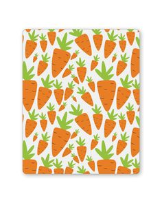 Carrots Pattern Mouse Pad