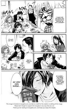 Noragami 27: Work and Karma, and its obvious that Kazuma won =P