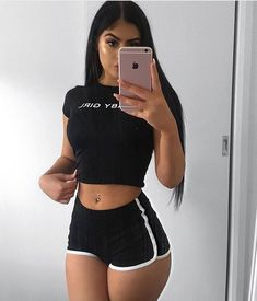 Fitness body goals latina New Ideas Fitness body goals latina New Ideas,Kläder Fitness body goals latina New Ideas body goals motivation transformation workouts loss transformation Mode Outfits, Trendy Outfits, Summer Outfits, Girl Outfits, Fashion Outfits, Fashion Shorts, Chic Outfits, Jeans Outfit Summer, Comfy Outfit