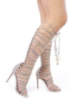 Lace Up Heels, Cheap Lace Up Heels, Sexy Lace Up Heels Lace Up Heels, High Heels, Shoes Heels, Gladiator Heels, Gladiators, Suede Material, 4 Inch Heels, Open Toe, Stylish