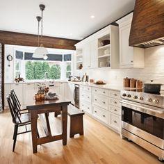 Déco cuisine : meuble de cuisine, peinture, agencement, crédence, îlot