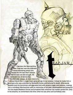 He-Man todo mundo conhece. O super herói de Etérnia, que de dia é Adam, um apático e atrapalhado príncipe, sempre seguido de perto pelo seu...