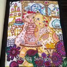 #creativehaven #creativecats #adultcoloring