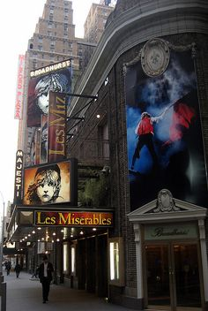NYC - Theatre District: Broadhurst Theatre by wallyg.