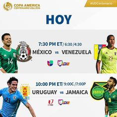 Y sigue la fiesta de la @copaamericacentenario Quién gana hoy? #Copa100 #UDCentenario