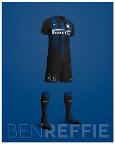Just for fun I wanted to try out designing some kits for Inter Milan.