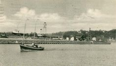Entrance to harbour, Goderich, Ontario by Wrecksdale Wreck, via Flickr