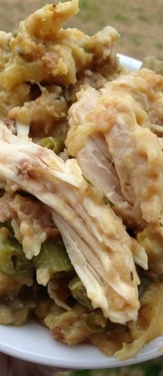 Crockpot Chicken and Stuffing Recipe | Bake a Bite
