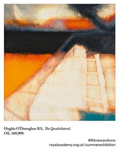 """""""Our Summer Exhibition image of the day is by Hughie O'Donoghue RA"""" Abstract Landscape, Abstract Art, Print Box, Royal Academy Of Arts, Image Of The Day, Japanese Prints, Painting Inspiration, Printmaking, Contemporary Art"""