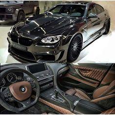 BMW F06 M6 black Hamann