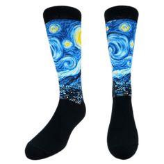 Starry Night Socks - Detroit Institute of Arts Museum Shop