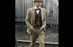 Kentucky derby outfit for guys 02 trend mens fashion 2017 Derby Outfits, 1920s Outfits, Men's Outfits, Gatsby Outfits For Men, Mens Gatsby Outfit, Work Outfits, Fashion Outfits, Mode Masculine, Costume Année 30