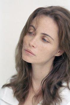 Emmanuelle Beart, I love her freckles!