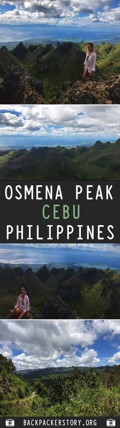Osmena Peak is on the island of Cebu in the Philippines. It is the highest mountain in Cebu standing metres. Cebu, Backpacker, Philippines, Destinations, Dreams, Island, Mountains, Big, Pictures