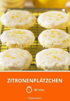 Zitronenplätzchen - smarter - Zeit: 40 Min.   eatsmarter.de
