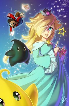Rosalina by lauren-bennett on DeviantArt