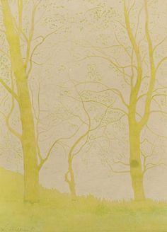 amare-habeo: Leon Spilliaert (1881 - 1946) Trees nearby the...