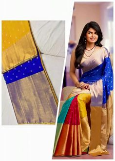 Indian Designer Pure Silk Saree