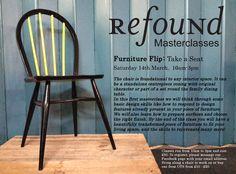 NEW ReFound Masterclasses! 1st class: Furniture Flip is now open www.refoundonline.com/blog