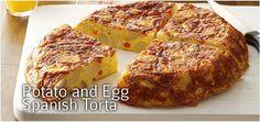 Potato and Egg Spanish Torta