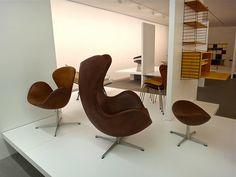 Arne Jacobsen  Egg-Chair und Swan-Chair
