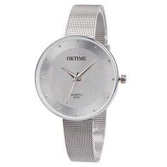 2018 Hot Clock Luxury Dress Leather Fabric Gold Relojes Mujer Women Fashion Analog Quartz Round Wrist Watch Watches Bracelet